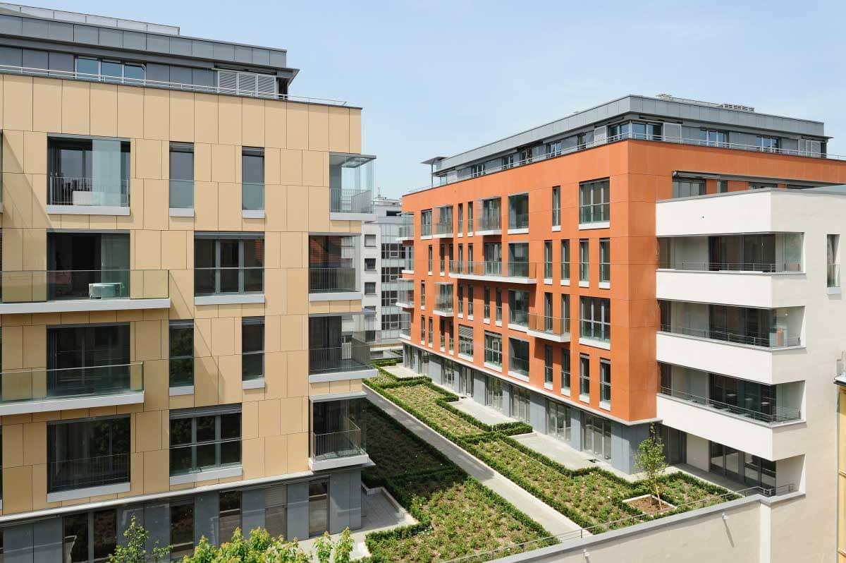 Villa Urbana - Multi-functional building complex