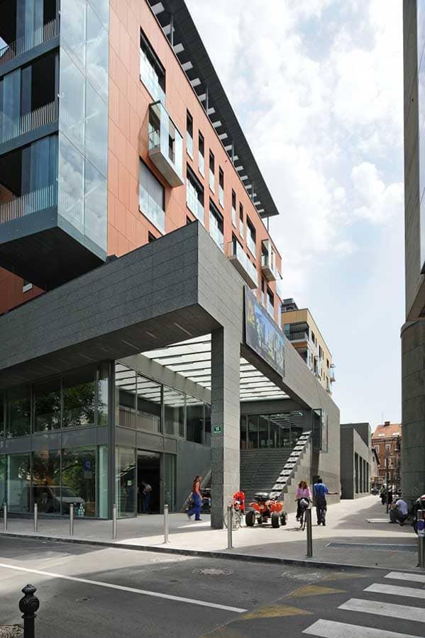 Villa Urbana - Multifunktionaler Gebäudekomplex