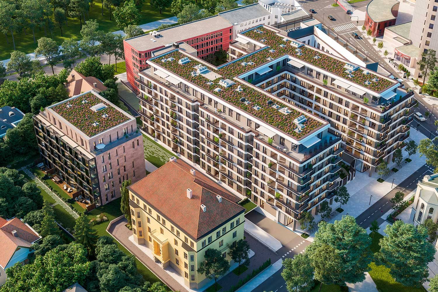 Project Schellenburg - Residential and commercial complex
